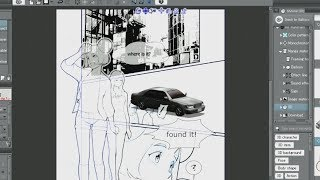 Let's create a manga :Background (2)