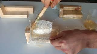 Как правильно клеить стеклоткань