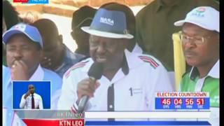 Muungano wa NASA umemtaka mkuu wa polisi Joseph Boinnet kutovuruga mchakato wa uchaguzi