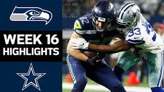 Seahawks vs. Cowboys | NFL Week 16 Game Highlights