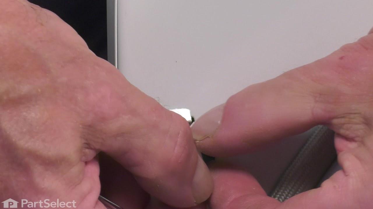 Replacing your Whirlpool Dryer Door Catch