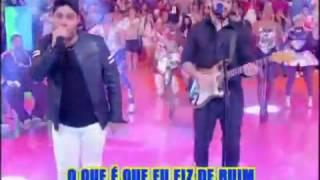 Jorge e Mateus cantam Florno Programa Esquenta 19 05 2013
