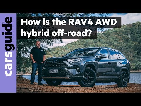 Toyota RAV4 2020 review: Cruiser hybrid AWD off-road test