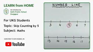 UKG   Skip Counting by 5   Maths   Learn Skip Counting   Teacher – Joyeeta Mukherjee   DPS Durgapur