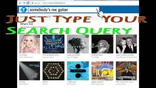 How To Download Mp3 Songs From Tubidymp3.io