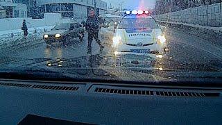 Погоня и долбоеб Полицейский vs Мой Господин  ч1