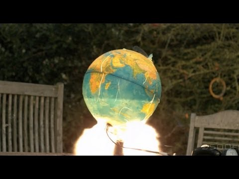 Rare High-Speed Footage Of The Earth Exploding