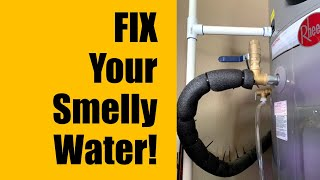Fix Smelly Well Water - Remove Rotten Egg Sulfur Smell by Adding Hydrogen Peroxide