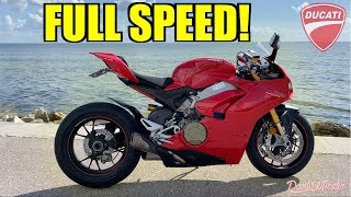 Ducati Panigale V4S Test Ride - CRAZY POWER!