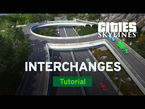 Highway Interchanges with Sam Bur | Modded Tutorial | Cities: Skylines