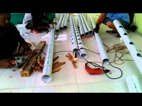 Video Cara membuat tanaman hidroponik Kodim 0314/Nihil