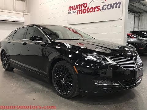 2016 Lincoln SOLD SOLD SOLD MKZ Navigation Sunroof Black Wheels Heated and Cooled Seats Munro Motors
