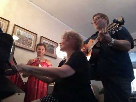 Edelweiss with my niece Ava on vocals and my mother Joyce on piano.  I do the guitar in this short video.