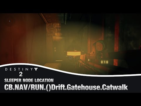 Drift Gatehouse Catwalk Override Frequency Amp Sleeper Node