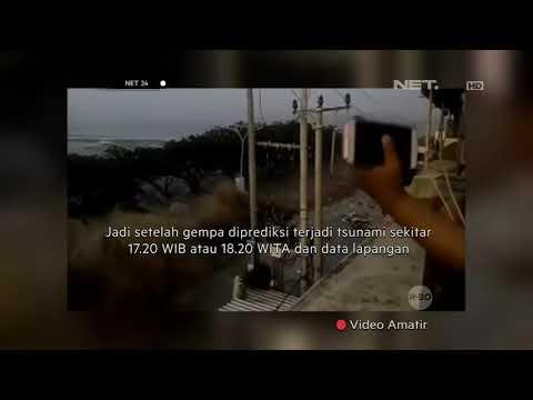 Konfirmasi BMKG Gempa Donggala Sulteng-NET24