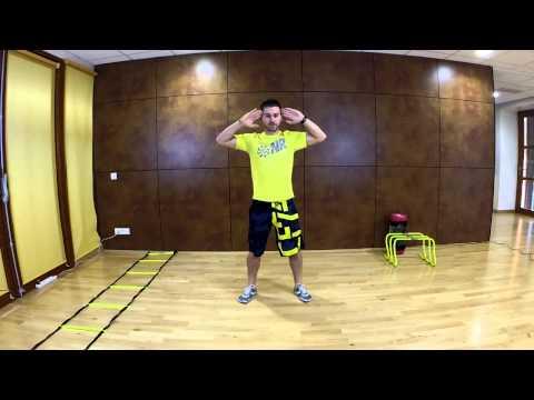 Challenge 10 fentes avant -10 prisoner squats 15-20'