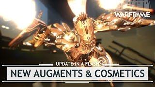 Warframe: NEW Augments for Nezha, Titania, Inaros  Ivara!