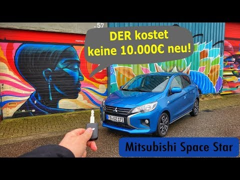 2020 Mitsubishi SpaceStar 1.0 71PS | Fahrbericht - Test - Review