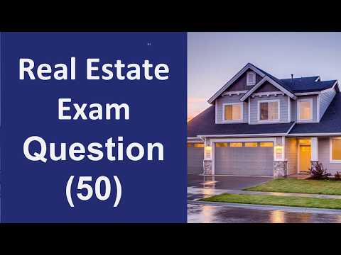 Real Estate Exam Practice Questions - 50 Questions with Answers ...
