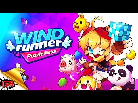 WIND Runner : Puzzle Match PVP   Gameplay   Android New Game