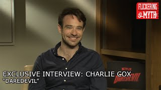 EXCLUSIVE: Charlie Cox talks Daredevil Season Two, The Defenders and The Avengers