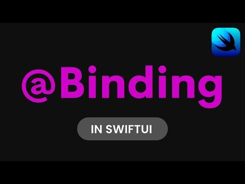 How to use Binding in SwiftUI (SwiftUI Tutorial, SwiftUI Data Flow, @Binding SwiftUI) thumbnail