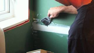 How to mud and tape drywall [1of2]