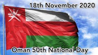 Oman 50th National Day   18th Nov 2020   Unknown mood