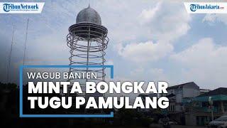Tugu Pamulang Banjir Hujatan, Wagub Banten Andika Hazrumi Instruksikan untuk Segera Dibongkar