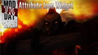 Skyrim Mod of the Day - Episode 258: Attribute Icon Widget