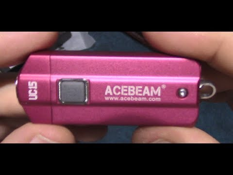 AceBeam UC15 Flashlight Review!