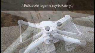 Xiaomi Mi Drone 4K has finally arrived. Spare parts and backpack available