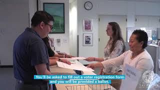 2020 General Election - 'Same Day' Voter Registration