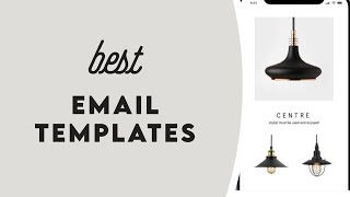 Top 10 Email Templates 2020 - Email Marketing Hacks - Best Software