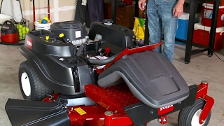 How To Set Up your Toro TimeCutter Zero Turn Mower