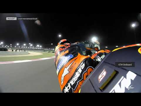 Red Bull KTM Factory Team OnBoard: VisitQatar Grand Prix