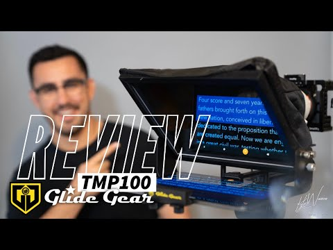 Review: Glide Gear TMP100 - Best Portable Teleprompter Setup for Tablets
