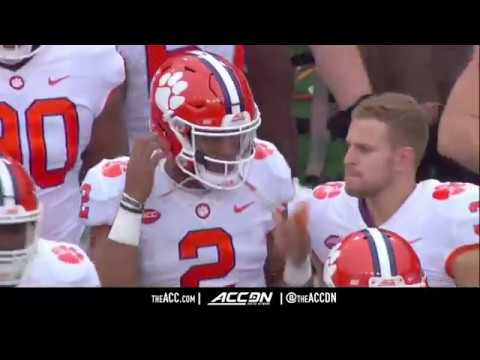 Clemson vs NC State College Football Condensed Game 2017
