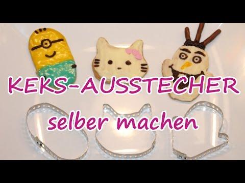 AUSSTECHFORMEN einfach selber machen! Olaf, Minion, Hello Kitty / günstig & einfach! /TäglichMama