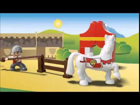 Vidéo LEGO Duplo 10568 : Le combat du chevalier
