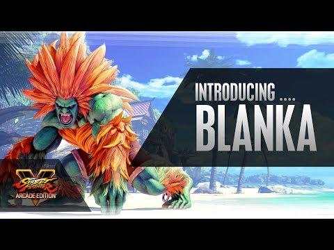 SFV: Character Introduction Series - Blanka de Street Fighter V