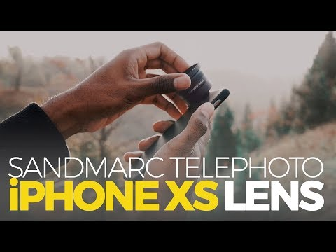 BEST IPHONE XS LENS? Sandmarc Telephoto Lens Review + GIVEAWAY
