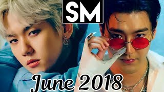 [TOP 100] Most Viewed SM MVs [June 2018]