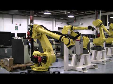 FANUC R-2000iB 125L R30iA Machining & Milling Application