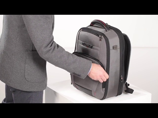"Pro-Dlx 5 Laptop Backpack expandable 15.6"" video 1"