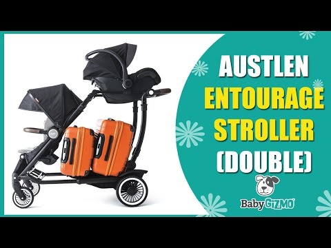 Austlen Entourage Baby Stroller Review Part 2 | Best DOUBLE Strollers