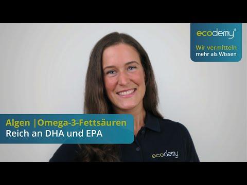 Algen   reich an Omega-3-Fettsäuren DHA und EPA