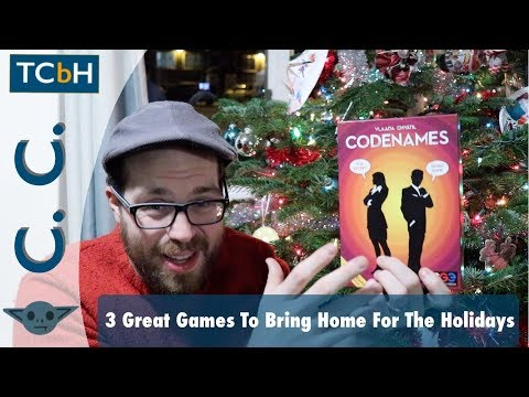 The Cardboard Herald - 3 Great Games to Bring Home for the Holidays