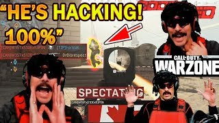 DrDisrespect Meets & Spectates FIRST HACKER in COD Warzone ($50K Tournament!)
