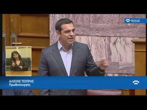 Α.Τσίπρας (Πρωθυπουργός)(Συνέργειες Πανεπιστημίων και Τ.Ε.Ι)(23/04/2019)